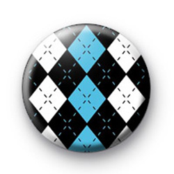 Diamond Pattern Blue badges