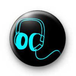 Blue Headphones badges