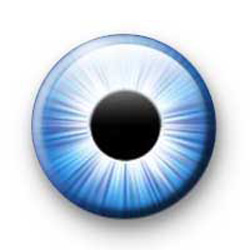 Eye Ball Blue badges