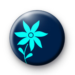 Blue Flower badges
