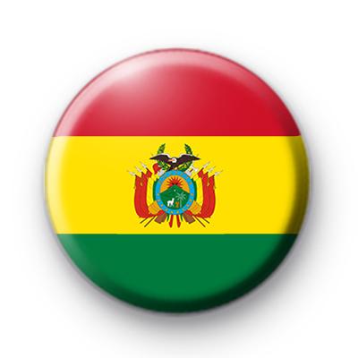 Bolivian Flag Badge