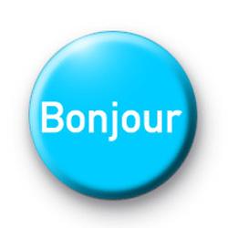 Hello - Bonjour badges