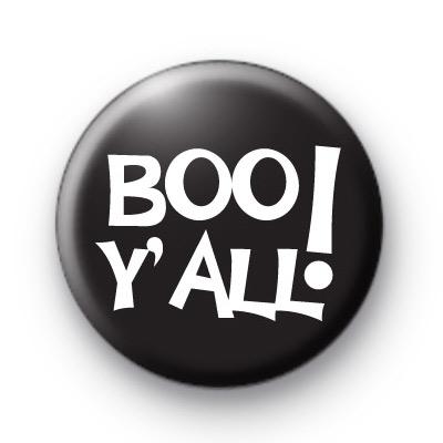Boo Y'all Badge