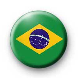 Brazil Flag Badges