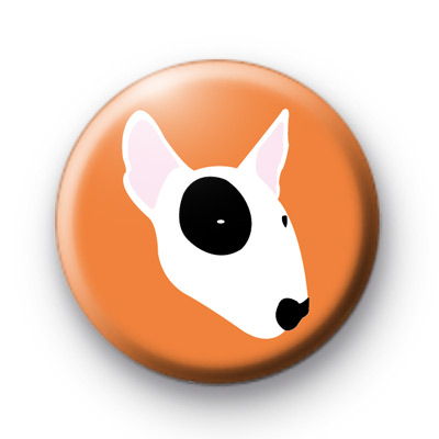 Bull Terrier Dog Badge