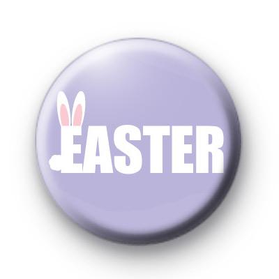 Extra Cute Bunny Ears Easter Badges