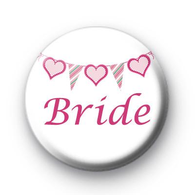 Bunting Bride Badge