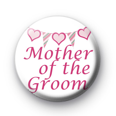 Bunting Mother of The Groom badge