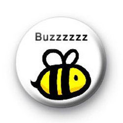 Bumble Bee Buzzzzzzzz Badges