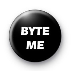 Byte Me badges