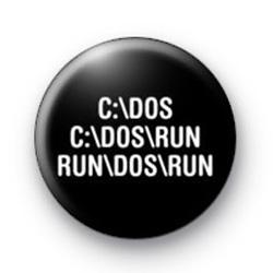 C Dos Run Run badge