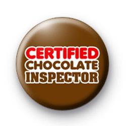 Certified Chocolate Inspector Badge