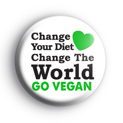 Change Your Diet, Change The World Badge
