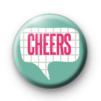 Cheers Speech Bubble Badge