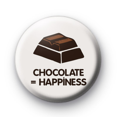 Chocolate is Happiness Badges
