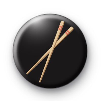 Sushi Chopsticks Button Badges