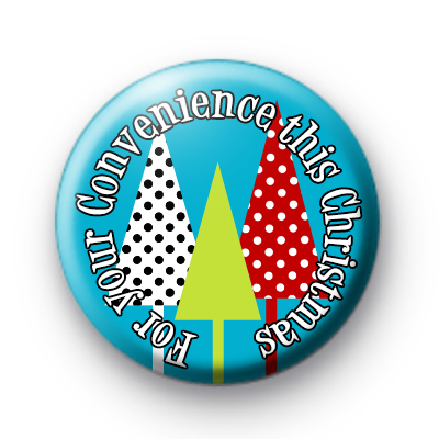 Christmas Gift Custom Badge