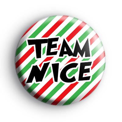 Team Nice Christmas Badge