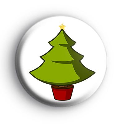 Christmas Tree Badge