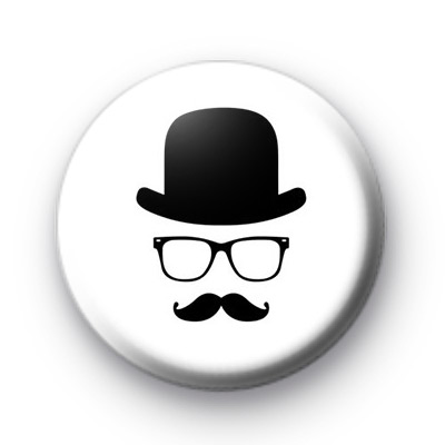 City Slicker Movember moustache Badge