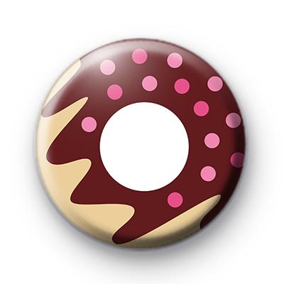Classic Donut pin badge