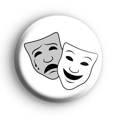 Theatrical Masks Badge