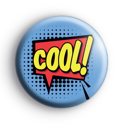 Cool Speech Bubble Button Badge