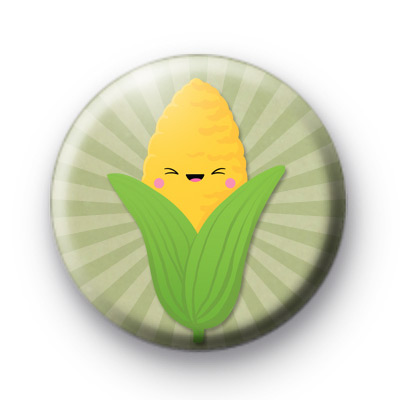 Cute Corn on the Cob Badges