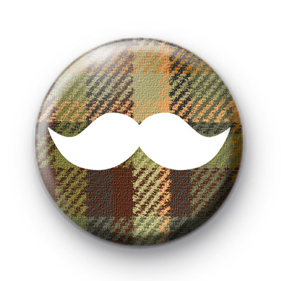 Country Bumpkin Moustache Badge