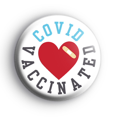 COVID Vaccinated Badge