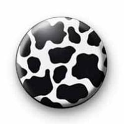 Cow Print badges