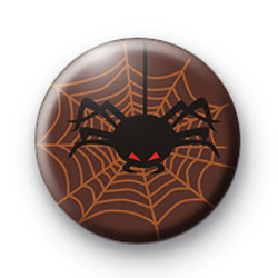 Evil Scary Spider Badges