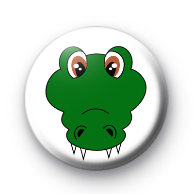 Crocodile Button Badges