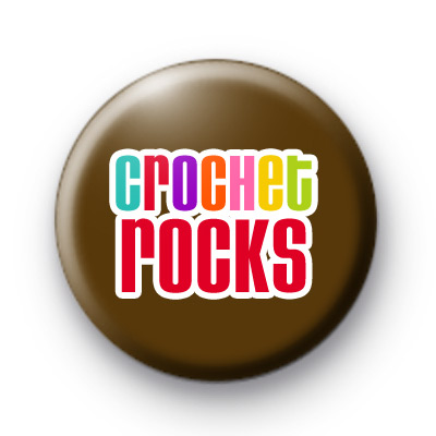 Crochet Rocks Badge