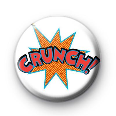 Crunch Comic Book Badge