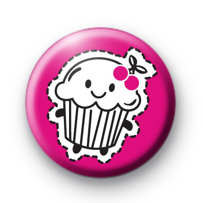Cupcake cutout badge