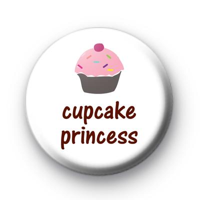 Cute Cupcake Princess Badge