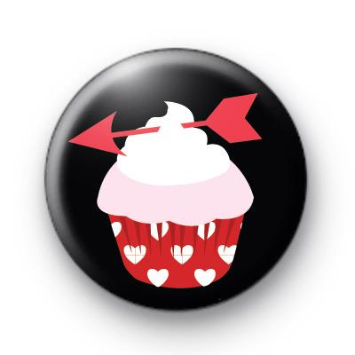 Cupids Arrow Cupcake Badge