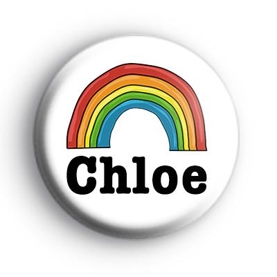 Rainbow Custom Name Badge