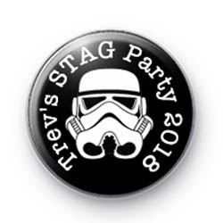 Storm Trooper Stag Party Badges