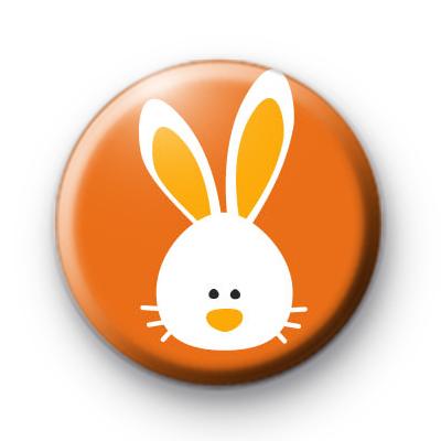 Floppy Easter Bunny Badge