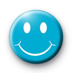 Blue Smiley Face Badges