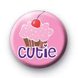 Cute Cutie Cupcake Badge