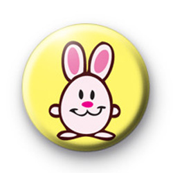 Super Cute Easter Bunny Badge