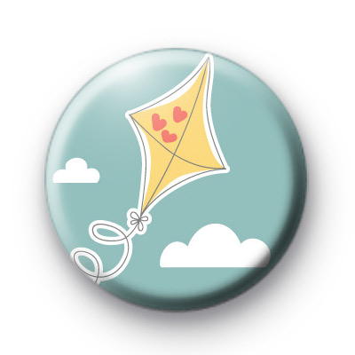 Cute Kite Button Badges