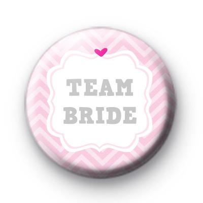 Cute Pink Team Bride Badges