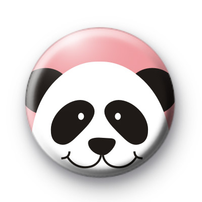 Cutest Panda Button Badges