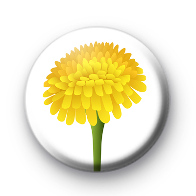 Dandelion Badge