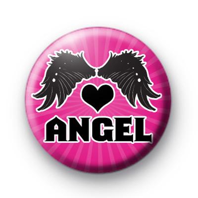 Dark Angel Button Badges