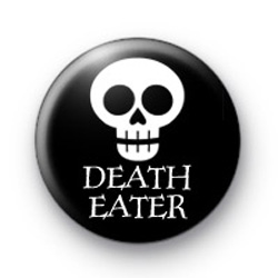 Death Eater Skull Button Badge